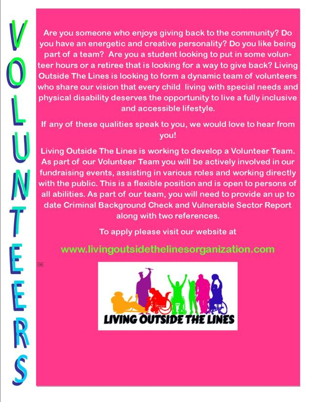 volunteer advertisement