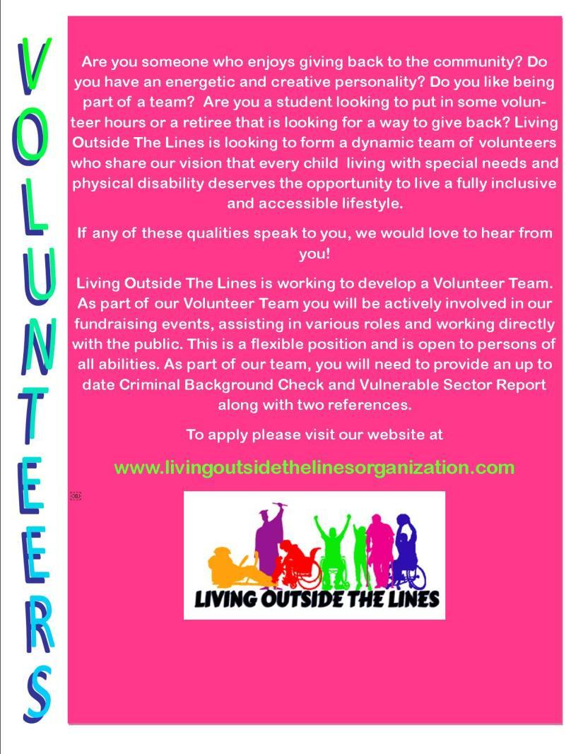 volunteer advertisement